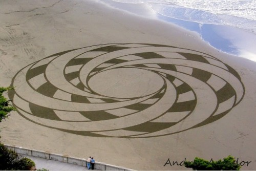 Sand Art Celtic by Andres
