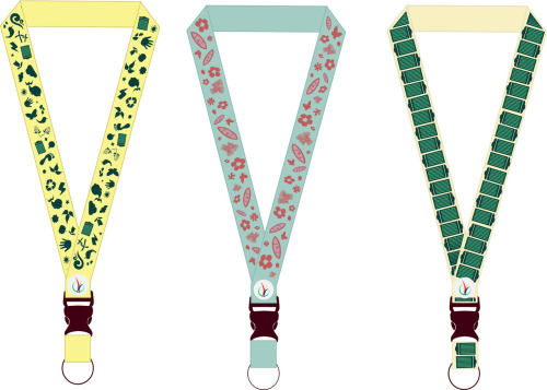 Designed some lanyards :>