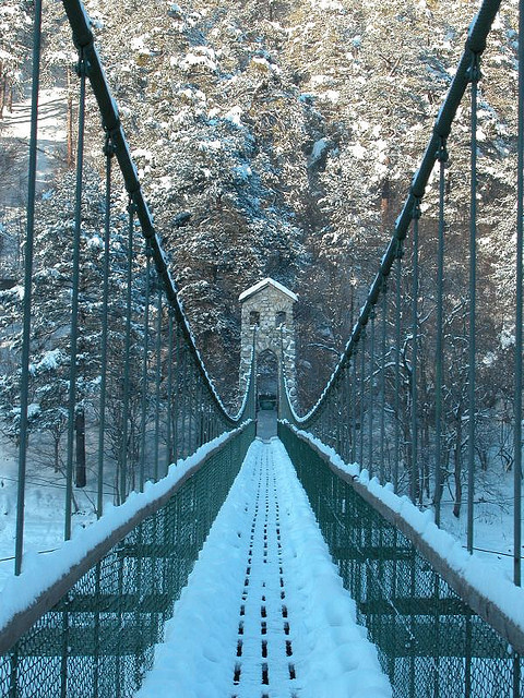 suspension Bridge by marcelleitner bilderleben.at on Flickr.