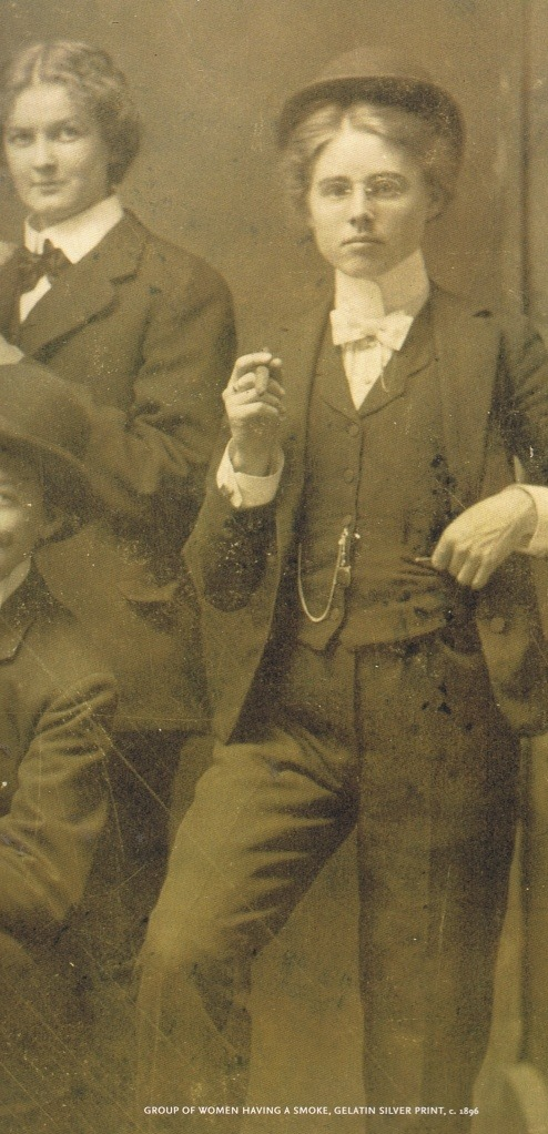 beatonna:  olosta:  group of women having a smoke, gelatin silver print, c. 1896.  How to go back in time and be this person is the question