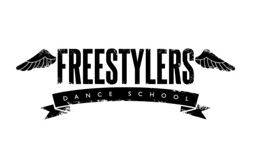 Logo design for Paula McCann's 'Freestylers Dance School' in Bristol.