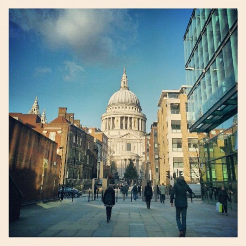 St Pauls Cathedral… #London #City #Cathedral #Religion #Building #Architecture #Design #History #Weather #Amazing #Love #StPauls #Old #New #InstaHub #InstagramHub #InstaDaily #PicOfTheDay #Photography #PhotoOfTheDay #Winter