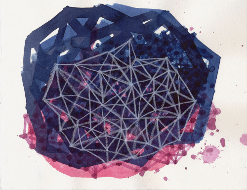 matthewjbest:  new #drawing, 8 by 10 inches. ink and colored pencil on paper. Heading for the Snowflake Salon in Philadelphia, PA. Exhibition December 14, 2012 - February 28 2013 Artist Reception + PARTY! + Sale Friday, December 14, 5:30 - 8:00 (doors close then, but we can party on) All works 8 x 10 inches or less.