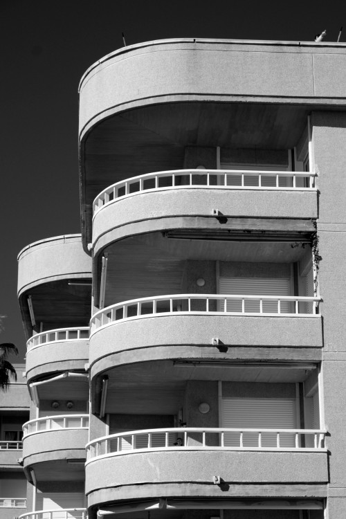 Salvador Dali residential complex. Benalmadena, November 2012.