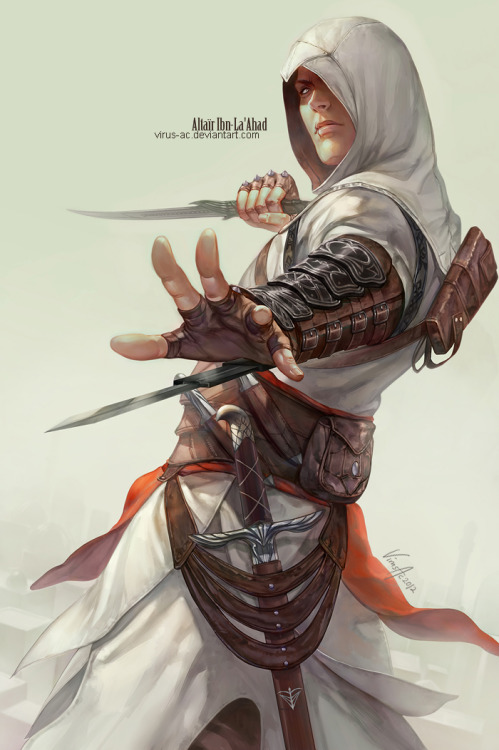 Altaïr Ibn-La'Ahad Created by =Virus-AC  (Via: vac-laboratory)