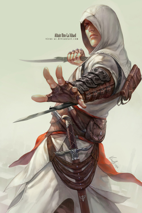 Altaïr Ibn-La'Ahad by =Virus-AC For CF2012 :)
