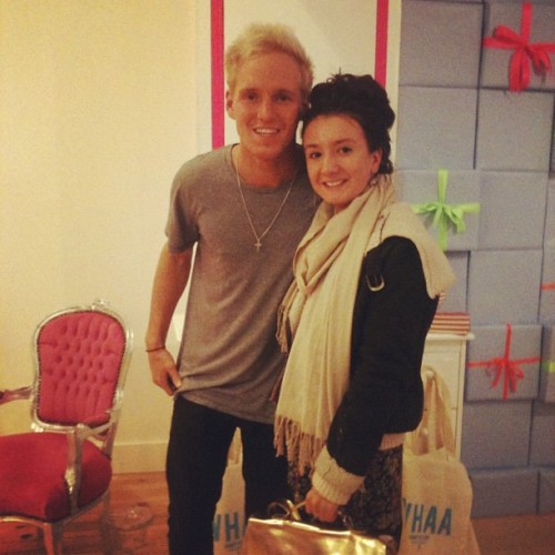 Just met Jamie from Made In Chelsea #MIC #MadeInChelsea #CandyKittens