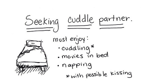 Cuddle-application. Thought I should put this up