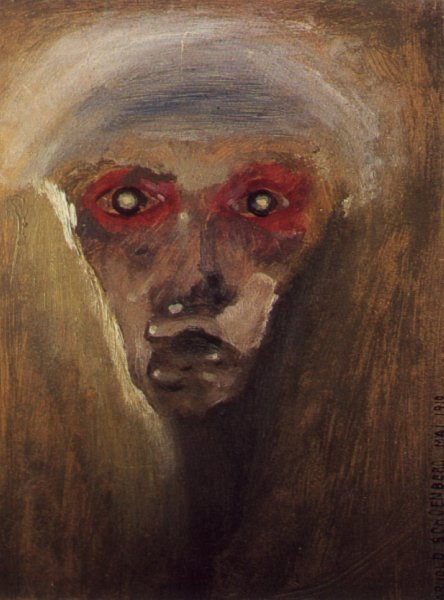 Arnold Schoenberg - Red Gaze (1910)