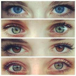 phsycominded:  each eye is literally perfect