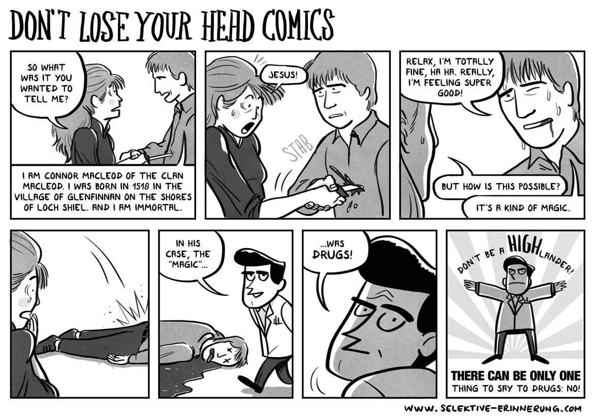 Don't Lose Your Head Comics