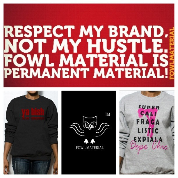 Respect! #fowlmaterial#streetwear#fashion #fashionista#clutch #louisvuitton #tweegram #sale #ootd #Hermes#china #japan#swag#streetfashion #style #photooftheday #bestoftheday #webstagram  #boutique #clothes #Christianlouboutin #love #wedges#armparty #accessories #sweetlook #supportsmallbiz#shoes (at www.fowlmaterial.com)