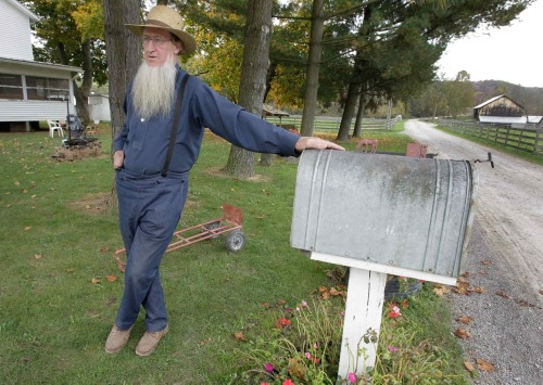 "Samuel Mullet, the Amish bishop accused of forceful beard-cutting, sat down with us for an exclusive interview for the first time since going to jail.   ""We're not denying we cut hair. And I'm not saying it was right or wrong,"" he said. ""But being here in jail — well, it looks wrong. Let's suppose that God has done this for a reason. Nobody realized when the guys went that it would be looked at this seriously. Nobody would have done anything if we knew it would become a serious case."" Still, he saw incarceration as a sacrifice for his followers and a personal martyrdom of sorts — a fulfillment of what he described as ""God's vision"" for him. ""Christ did it for me so why shouldn't I do it for them?"" he said.  But his time in jail proves to be not all bad; he did score himself a new nickname.  ""They're calling me O.G.,"" he said, smiling. ""I don't know what it means, but I guess it means something good."""
