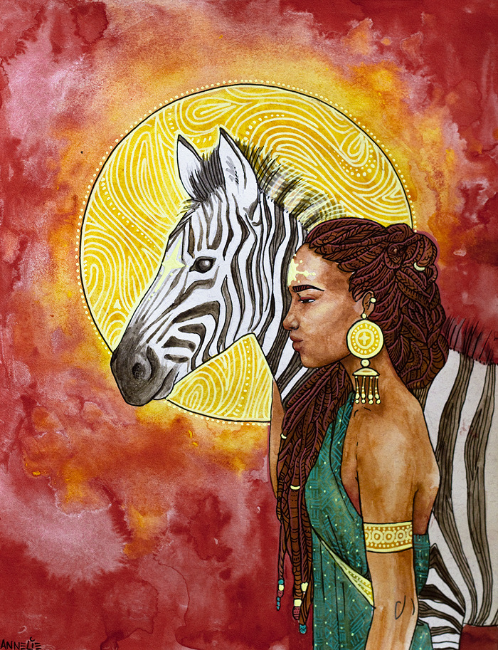 Zebra Guide by Annelie Solis