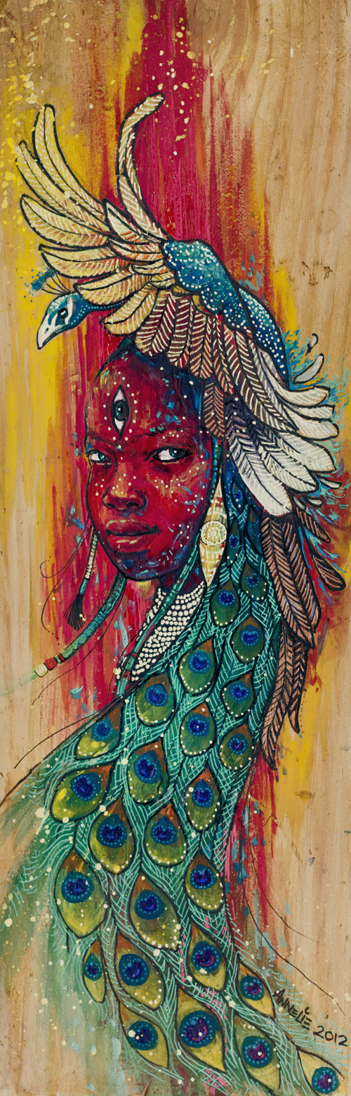 Tausi Girl by Annelie Solis