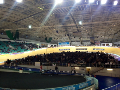 Manchester Velodrome for the Revolution Series Round 2.