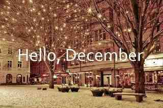 Like if you love december