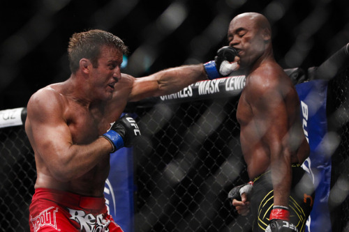 UFC 153 - Stephan Bonnar(left) vs. Anderson Silva(right)