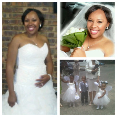 Beautiful bride! Mama'Lesedi!