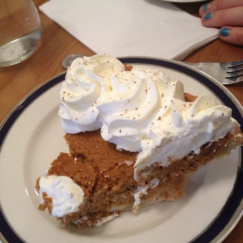 Pumpkin Pie! Hello USA!