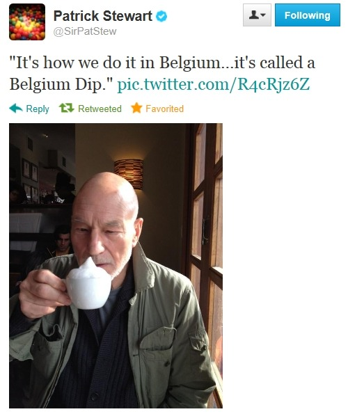 sir patrick just made my day ;)