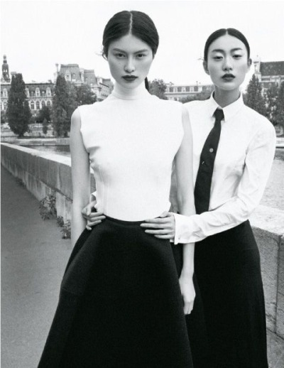 Sui He and Shu Pei shot for Life Style Magazine