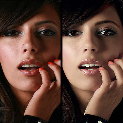 Photoshop Tutorial: Photo-Retouch  found at fxencore.de