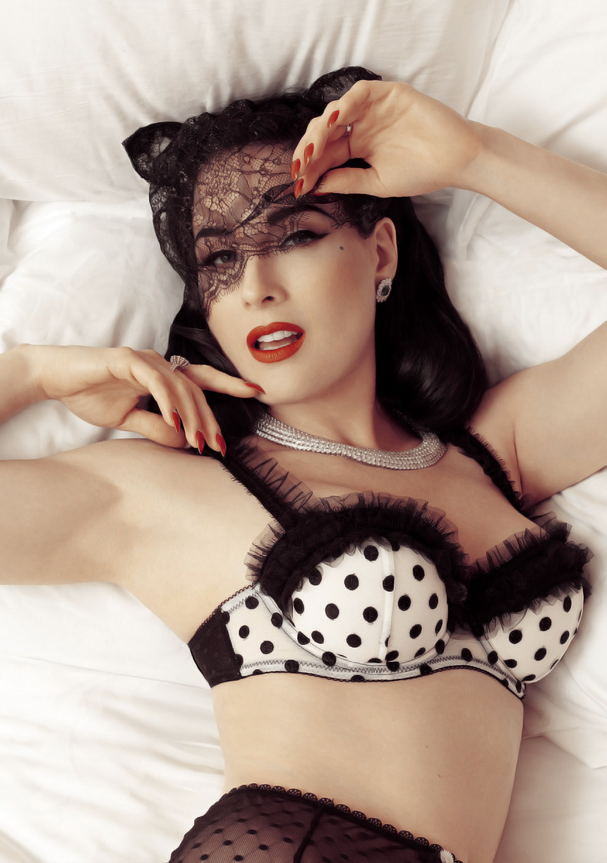 alexandra-veda:  Dita Von Teese for Elle Men China