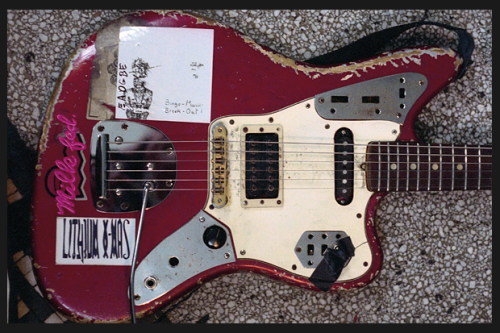 Kim Gordon's 66' Fender Jaguar