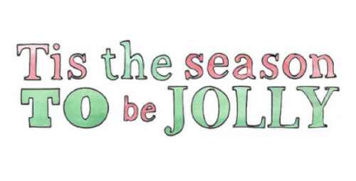 to be jolly *