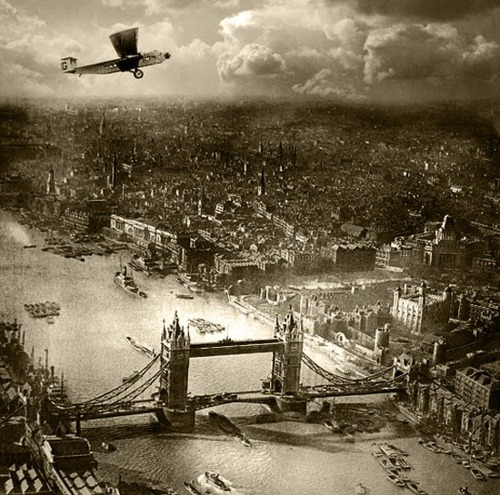 maudelynn:  Tower Bridge, London, by Arthur G Buckham