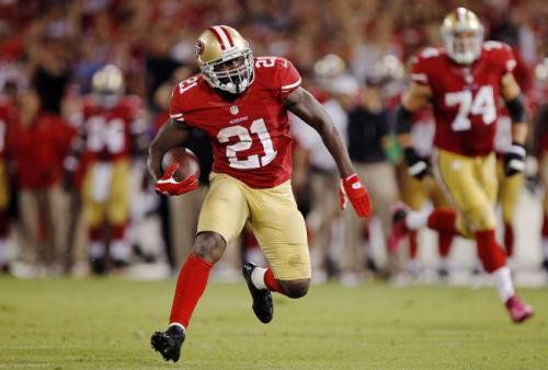 San Francisco takes the lead on a one-yard touchdown run from Frank Gore