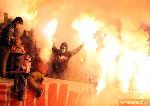 Spartak Moscow vs Zenit on Friday night!
