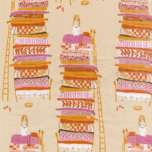 "whimsytangles:  ""Princess and the Pea"" by Heather Ross"