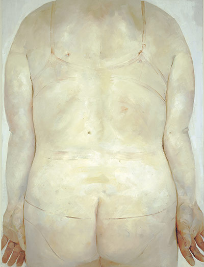 artmastered:  Jenny Saville, 1993, Trace No contemporary painter does skin tone and texture like Saville. Click here for an online selection of her works exhibited at the Saatchi Gallery in London.