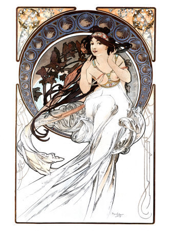 the-goddamn-loveliest-melody:  Alphonse Mucha on We Heart It. http://weheartit.com/entry/43124155