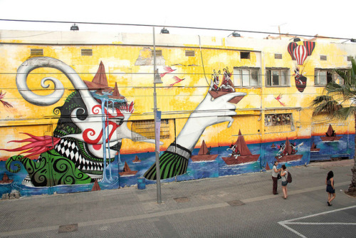 Escaping thoughts by skount works on Flickr.Tel Aviv-Yafo, Tel Aviv, IL.