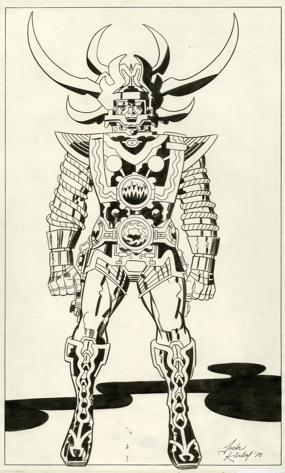 SAM by Jack Kirby [ Lord of Light AKA ARGO ] via ComicBookMovie
