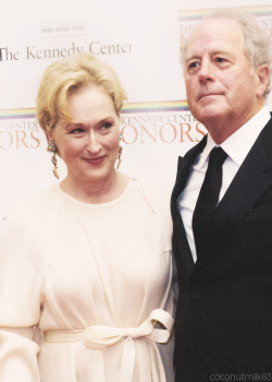 coconutmilk83:  Meryl Streep & Don Gummer | 35th Annual Kennedy Center Honors - Gala Dinner (✗)
