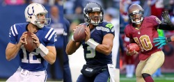 cbssports:  Andrew Luck, Russell Wilson, or RG3?