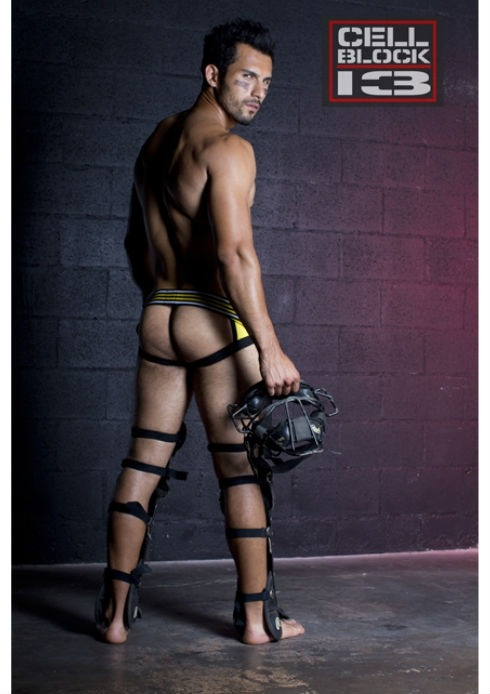 Jose Parra is a sexy guy and we're totally loving his shoot for CellBlock 13. These shots were photographed by Timoteo Ocampo and Jose was styled by Marius Cigaral.http://www.dnamagazine.com.au/articles/news.asp?news_id=18006