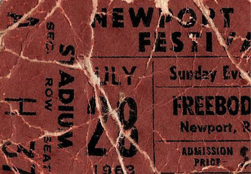 child-of-clay:  Newport Folk Festival, 1963