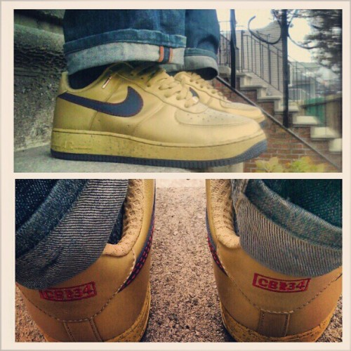 Nike AF1 Premium CB34 Olympic #IGSneakerCommunity #Instakicks #TodaysKicks #WDYWT #SoleToday #MyKicksSeeLightOnceAWeek (at Brooklyn)