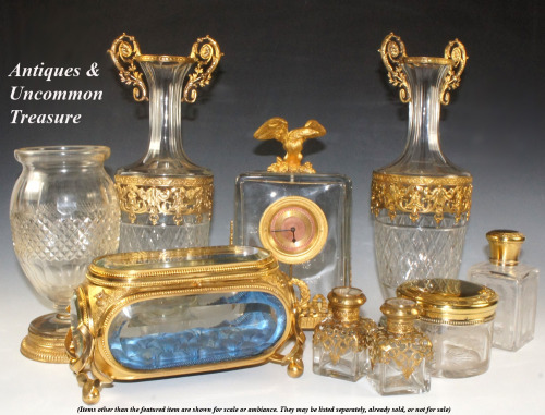 Antiques & Uncommon Treasure: Just back from Europe and we have some spectacular inventory items we'll be adding in weeks ahead. Come and bookmark, return to watch as the most beautiful old treasures get listed. Things come and go every day. We have a very active shop. Don't miss the best ones!  Thanks for following us.