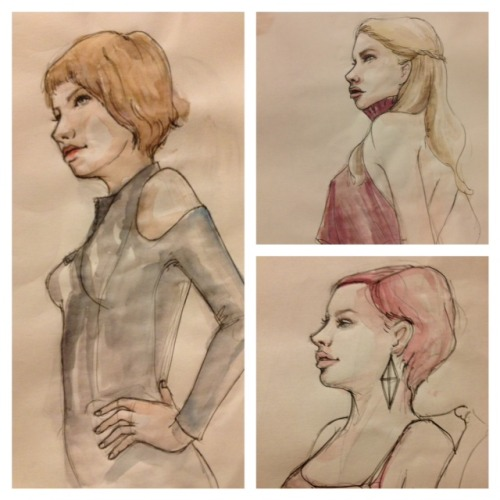 Sexedelica, New York, NY but drew these while visiting Nerdgasm at Rothick Art Haus in CA! Was great fun, had a great time! www.sexedelica.com
