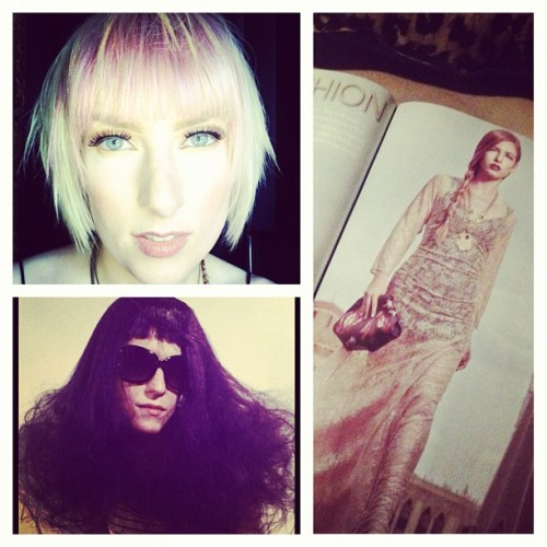 Stylist Laura Rose Werkin!! #stylelinemag #hair #beauty #hauteafterdark #Workroom #detroit