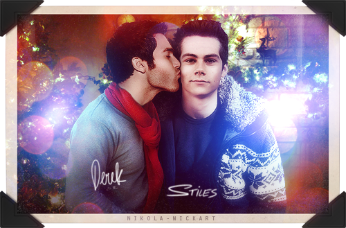Sterek wishes you a Merry Christmas!