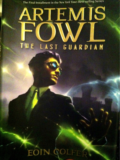 Starting the last book in the Artemis Fowl series. I have really enjoyed this YA series from the beginning.