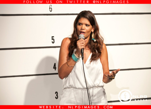 "Photo Recap: Aida Rodriguez (@FunnyAida) ""Model Behavior"" Comedy Special Taping at Tempo Lounge in Hollywood, FL. Presented by Florida Entertainment Summit (@FESummit) click link to view more photos from this event http://bit.ly/VmmGaa NLPGimages.com ""We're Everywhere You're Not"""