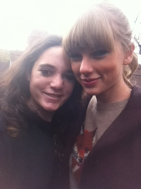 Me and Taylor Swift today!<3